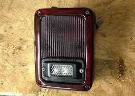 jeep wrangler backup lights jeep wrangler jk 2007 to 2015 how to install flush mount backup