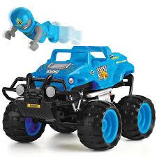monster smash ups rhino blue toy radio remote control rc truck