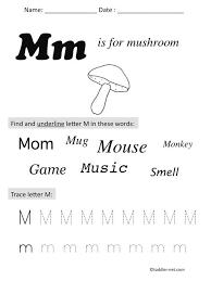 letter m preschool worksheets free worksheets library download