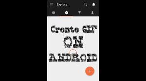 aplikasi android membuat animasi gif cara mudah membuat animasi gif di android picsart youtube