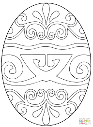 excellent ideas easter egg coloring page eggs pages free
