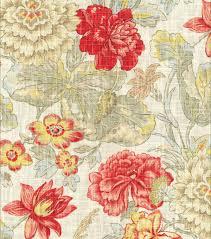 home decor print fabric waverly sonnet sublime crimson joann