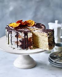 Chocolate Biscuit Cake Ginger And Honey Biscuit Cake With Choc Orange Icing Delicious