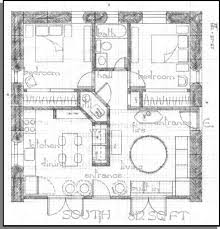 Straw Bale Floor Plans 4 Bedroom Straw Bale Plans Square House Plans On Straw Bale