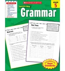 scholastic success with grammar grade 5 by