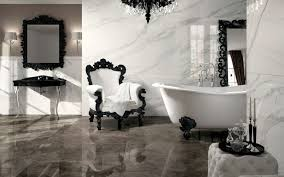 stunning black u0026 white bathroom with gray accents bathrooms