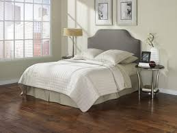 queen size adjustable bed with gray linen fabric upholstered