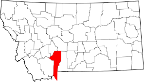Map Of Montana State file map of montana highlighting gallatin county svg wikimedia