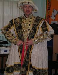 tudor king henry viii deluxe tudor king costume hire