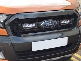 led light bar bundle lazer lights triple r 4 integration kit ford ranger 2016 4x4
