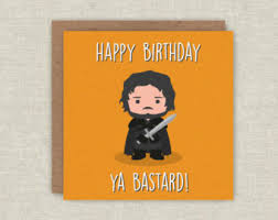 of thrones wrapping paper birthday card jon snow of thrones birthday card got