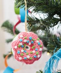 dangling donut ornament