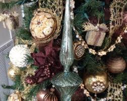 aqua ornaments etsy