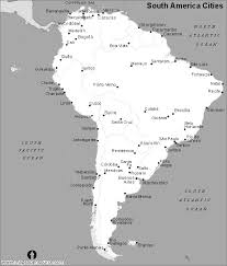 map of and south america black and white free south america cities map black and white cities map of