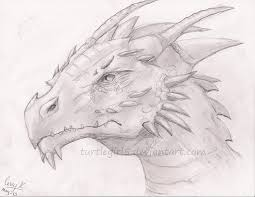 pencil drawing of a dragon by fox hound bites23 on clipart