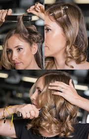 how to make flicks with a hair straightener 9 ways to use straightening irons new hairstyles using ghd stylers