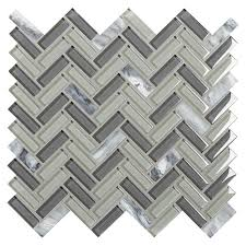 daltile chamber cliff sterling cloud 12 in x 12 in x 8 mm glass