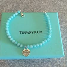 beads bracelet tiffany images Tiffany co jewelry soldauthentic tiffany amazonite bracelet jpg