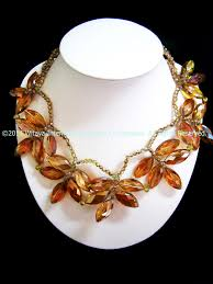 fashion jewelry statement necklace images Terrifically topaz statement necklace thai fashion jewelry JPG