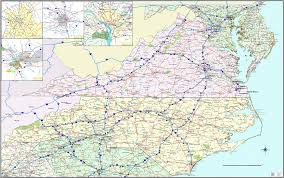 virginia map carolina virginia map up zoom