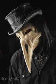 leather plague doctor mask plague doctor hat in black leather plague doctor black leather