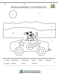 kindergarten math coloring pages kids coloring