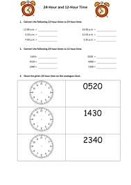 converting 24 hour and 12 hour time by snasato teaching