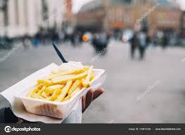 bruges cuisine popular junk food in bruges belgium is fries with