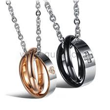 heart ring necklace images Cute heart rings necklaces for girlfriend and boyfriend jpg