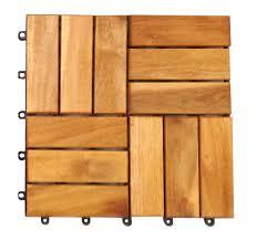 Teak Floor Tiles Outdoors by Home24h Co Ltd Outdoor Deck Tiles Garden Solid Teak Wood