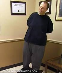 my 600 lb life chad update obese 700lb man loses 363lbs after gastric bypass daily mail online