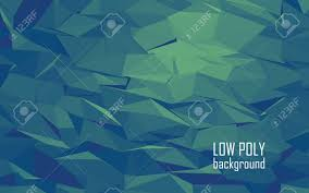 color combination for blue low poly 3d abstract vector background green blue color