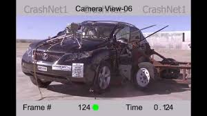 lexus suv length lexus rx side crash test 2012 high speed camera nhtsa full