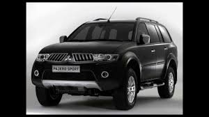mitsubishi black cars mitsubishi pajero sport 2012 car in india youtube