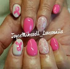 36 best pink up nails for breast cancer images on pinterest