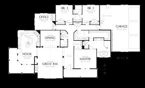 4 bedroom ranch style house plans mascord house plan 1232 the garrett