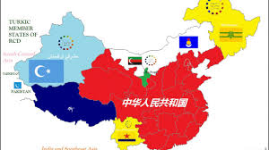 Maps Of China by Separatist Map Of China 中國分離地圖 Youtube