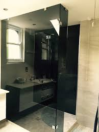 shower screens doors nottingham lee glass and glazing slightly different to the usual clear shower screen mr johal chose to have his glass