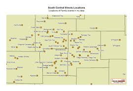 Henderson Colorado Map by Greg Lamberson U0027s Genealogy Website Fayette Bond Co Il
