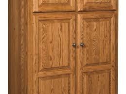 kitchen pantry storage cabinet white 4 door shelves wood kitchen