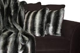 Fox Fur Blanket Custom Faux Fur Pillows Simple Faux Fur Pillows For Glamorous