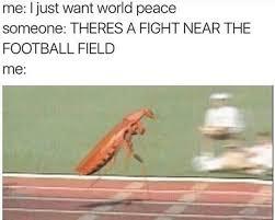 World Peace Meme - school fight vs world peace racing roach know your meme