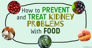 how to prevent and treat kidney health with food