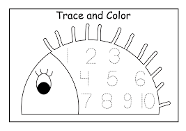 pictures on preschool number worksheets printable easy