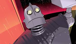 the iron giant the iron giant will pop off your wall in this vibrant new poster
