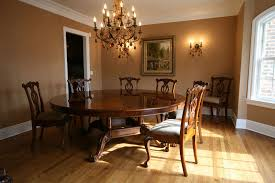 Dining Room  Round Pedestal Table With Regard To Attractive - Brilliant white and black dining table property