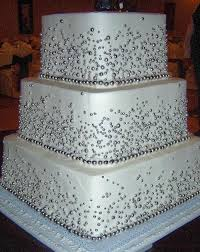 silver wedding cakes wedding cakes square silver wedding cakes