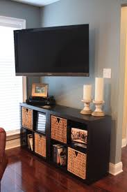 Undercounter Flat Screen Tv by Tv Placement In Bedroom Contemporary Wall Mounted Stand Ideas