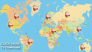 santa map official santa map track santa claus at home for