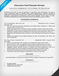 Chef Resume Templates by Executive Chef Resume Template Gfyork
